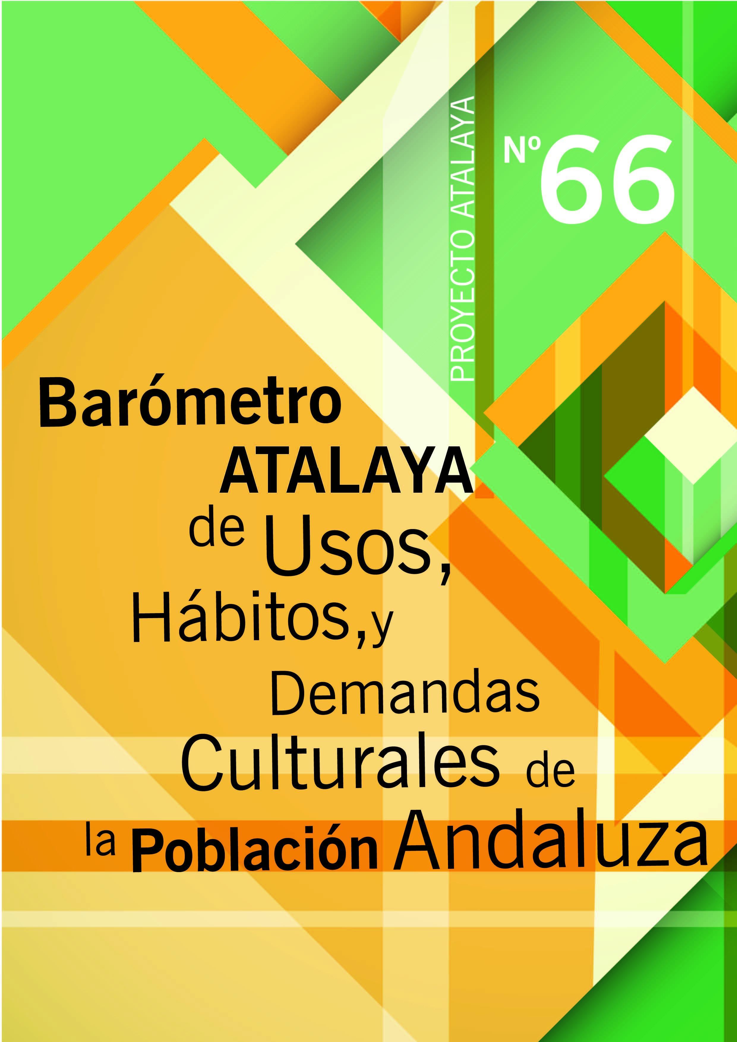 Barómetro Atalaya de Usos, Hábitos y Demandas Culturales de la Población Andaluza