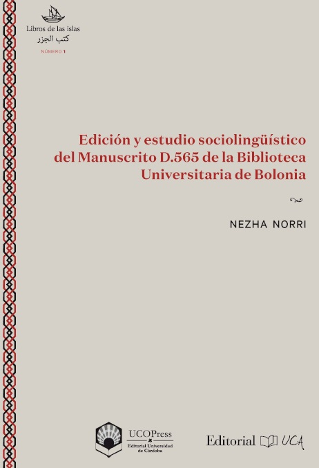 Edición y estudio sociolingüístico del Manuscrito D.565 de la Biblioteca Universitaria de Bolonia