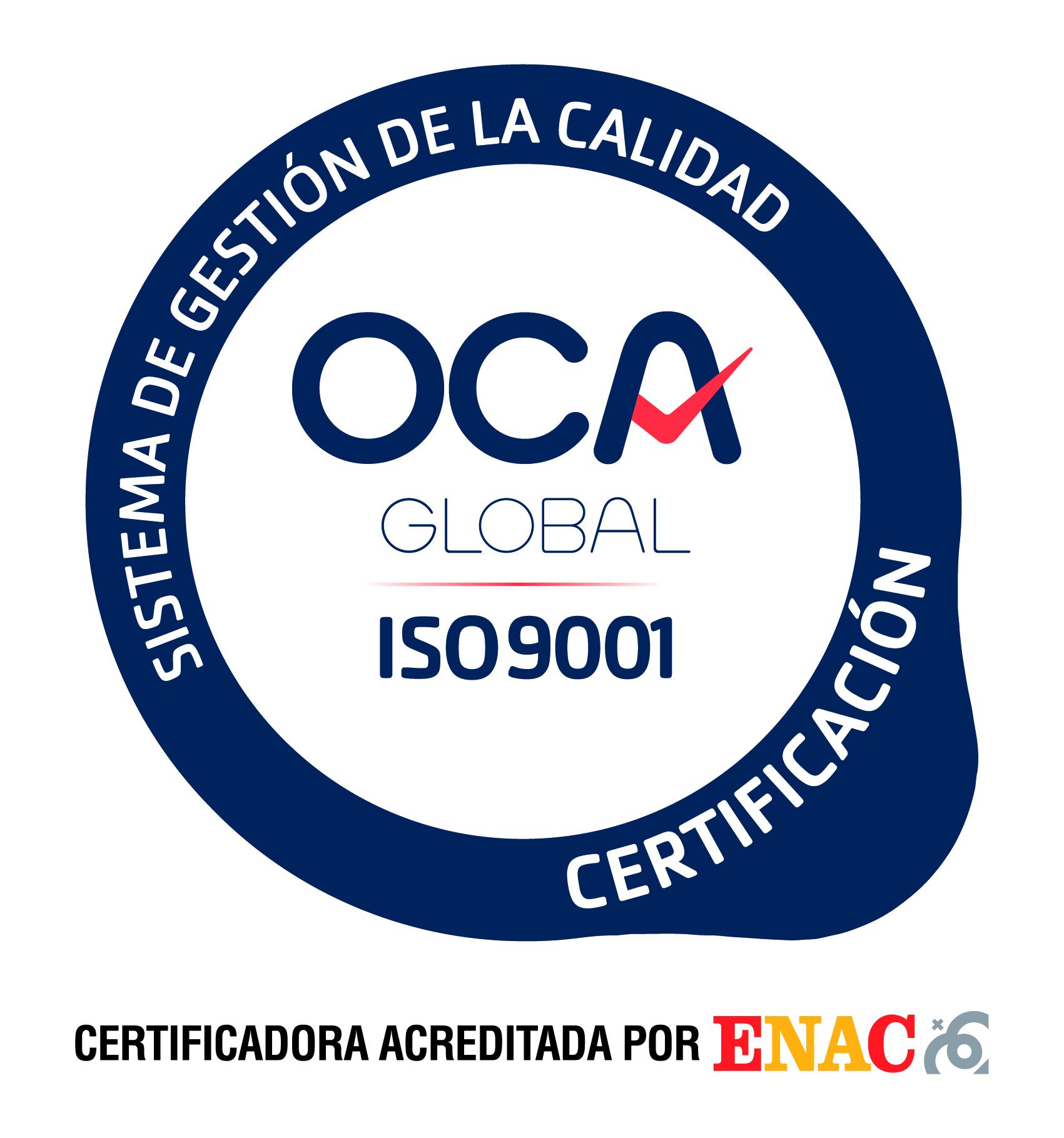 Editorial UCA renueva el Certificado de calidad UNE-EN ISO 9001:2015