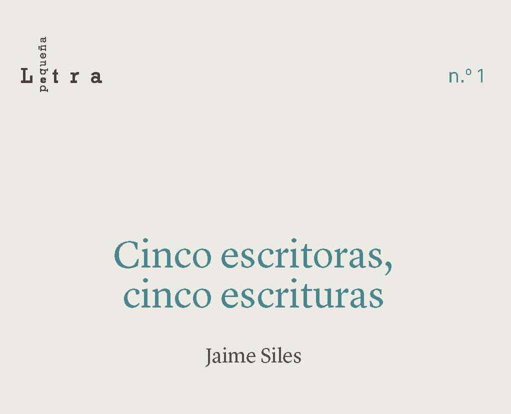 """IMG Editorial UCA presenta el libro """"Cinco escritoras, cinco escrituras"""", de Jaime Siles, a los XXIII Premios Nacionales de Edición Universitaria"""