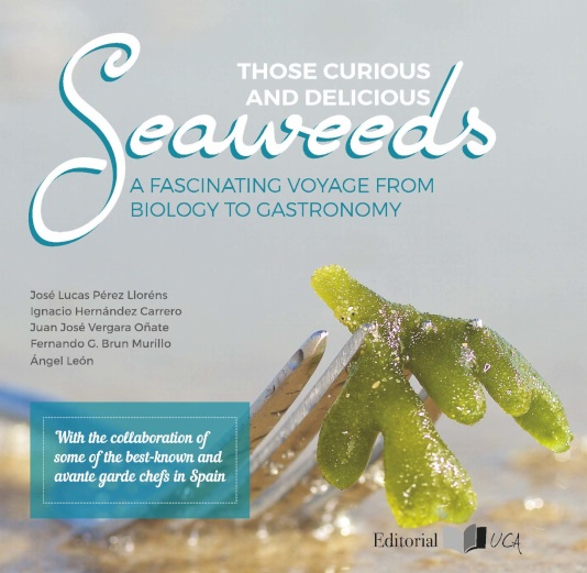 "Próxima exhibición del libro ""Those Curious and Delicious Seaweeds: A Voyage from Biology to Gastronomy"" en Alfred Nobel House Museum in Karlskoga , Sweden"