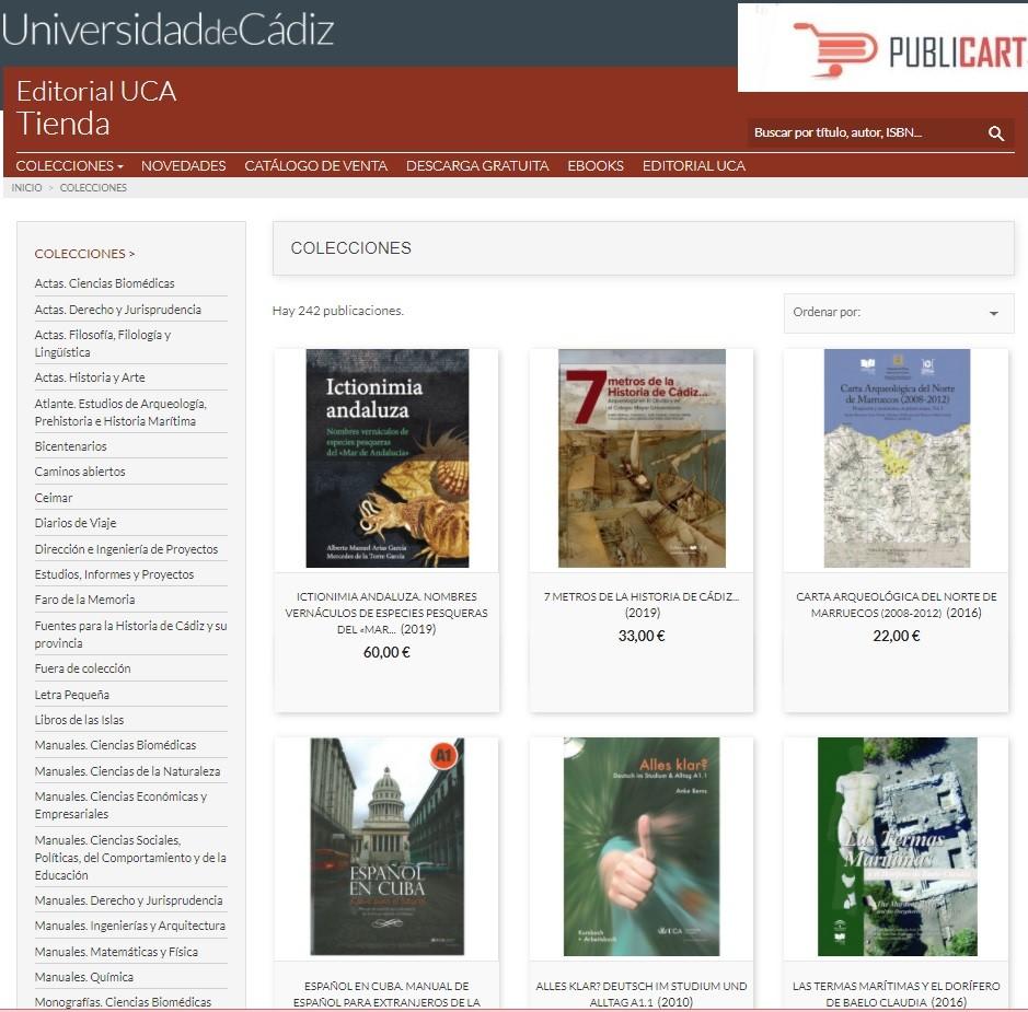 IMG Lanzamiento de la Tienda Editorial UCA (Publicart®)