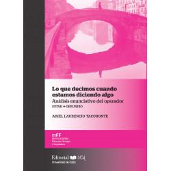 Presentación virtual en Italia del libro Lo que decimos cuando hablamos del sello Editorial UCA